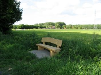rustplaats langs het Rijkegasthuisbos
