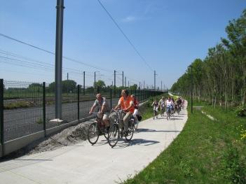 fietsostrade Drongen -Gent Sint-Pieters