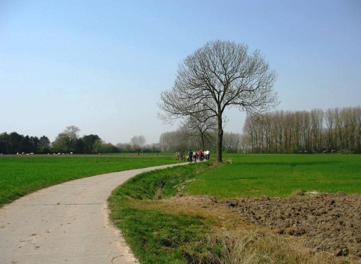 fietsen door het Meetjesland