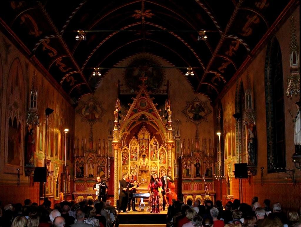 neogotische kapel